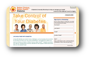 Chronic Disease Self Management Portal image